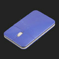 Super Slim 800-1200 DPI 3D USB Optical Mouse 15mm 3-Button Blue