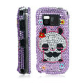 100% Brand New Purple Panda 3D Crystal Bling Hard Plastic Case For Nokia Mini N97