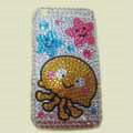100% Brand New Crystal Cartoon Rhinestone Bling Cover Case For Apple iphone 3G 3Gs