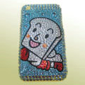 100% Brand New Crystal Sponge bob Squarepants Rhinestone Bling Hard Plastic Case For Apple iphone 3G 3Gs