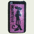 Brand New Pink Panther Bling Crystal Diamond Rhinestone Cover Case for Apple iPhone 3G 3GS
