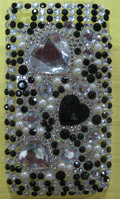 Brand New Clear Diamond Rhinestone Plastic Hard Cover Case For Apple iphone 3G 3Gs