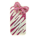 S-warovski crystal iphone 4G case diamond Pretty bows cover