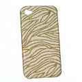 zebra iphone 3G case Glitter bling cover - EB002