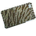 zebra iphone 4G case crystal bling cover - EB006