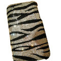 Zebra iphone 4G case S-warovski Crystal bling cover