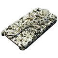 S-warovski Crystal bling Gecko Case for iphone 4 - black
