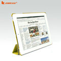 Miraculous magnetic wake smart cover for iPad 2 / The New iPad - Light green