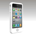 Brand New Smarties silicone case for iphone 4 - white