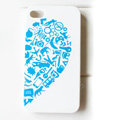 Brand New lovers case for iphone 4 - blue