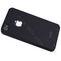 Brand new Ultra-thin scrub case for iphone 4 - black
