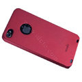 Brand new Ultra-thin scrub case for iphone 4 - red