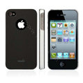 Moshi New arrival Color design cases covers for iphone 4G/4S - black