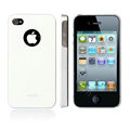 Moshi New arrival Color design cases covers for iphone 4G/4S - white