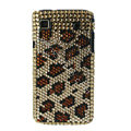 Brand New Leopard crystal bling case for Samsung i9000