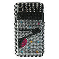 Brand New high heels crystal bling case for Samsung i9000