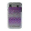 Brand New Rainbow Series bling crystal case for Samsung i9000 - EB002
