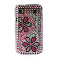 Brand New pink series crystal case for Samsung i9000 - EB006