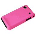 Ultra-thin scrub color covers for Samsung i9000 - rose