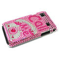 Bling crystal for Samsung i9000 case - pink EB012