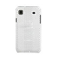 Mesh Hard Case Cover For Samsung i9000 - white