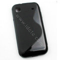 Senior Hard Case Cover For Samsung i9000 - Black