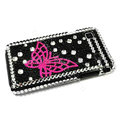 Butterfly bling crystal for Samsung i9000 case