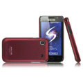 Ultra thin color covers for Samsung i9003 - red