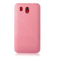 Pure point Ultra thin color covers for HTC G6 - pink