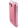 Ultra thin color covers for HTC G6 - pink