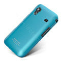 IMAK Ultra-thin Scrub color covers for Samsung S5830 - blue