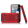 IMAK Ultra-thin Scrub color covers for Samsung S5830 - red