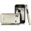 IMAK Ultra-thin titanium color covers for Samsung S5830 - champagne