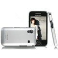IMAK Ultra-thin titanium color covers for Samsung S5830 - silver