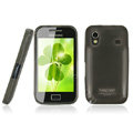 IMAK Ultra-thin Scrub case for Samsung S5830 i579 - black