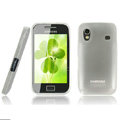 IMAK Ultra-thin Scrub case for Samsung S5830 i579 - white