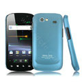 imak Ultra-thin Scrub color covers for Samsung i9020 - blue