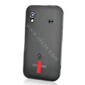 Capdase Silicone Case For Samsung S5830 - Transparent Black