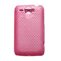 Mesh Hard Case For HTC G8 - pink