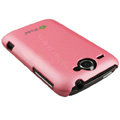 Ultra-thin color covers for HTC G8 - pink