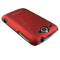 Ultra-thin color covers for HTC G8 - red