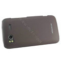 NILLKIN Ultra-thin Scrub cover for HTC Sensation G14 - brown