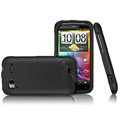 IMAK Ultra-thin color covers for HTC Sensation G14 - black