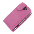 Simple leather case for HTC G8 - pink