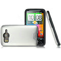 IMAK color covers for HTC Desire HD A9191 G10 - silver