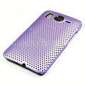 Mesh Hard Case For HTC Desire HD G10 - Purple