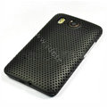 Mesh Hard Case For HTC Desire HD G10 - black