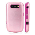 Silicone case for Blackberry 8900 - pink