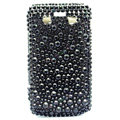 Bling crystal case for BlackBerry 9700 - black