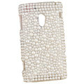 pearl crystal case for Sony Ericsson X10
